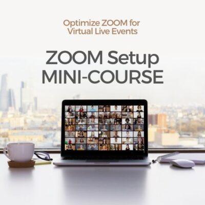 ZOOM Laptop Mini-Course Cover
