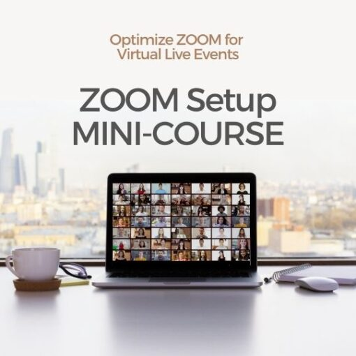ZOOM Laptop Mini-Course Cover