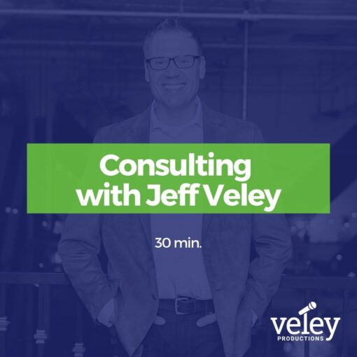 Consulting with Jeff Veley Cover
