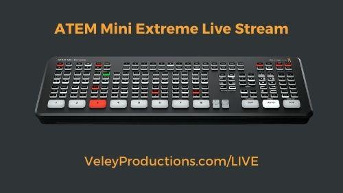 ATEM Mini Extreme for Virtual Live Events