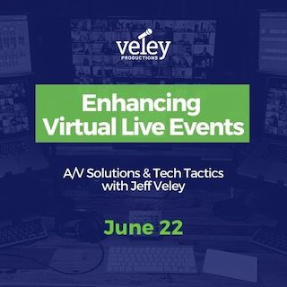 Enhancing Virtual live events June 22
