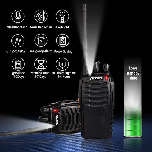 Two-Way Radios Features Guide